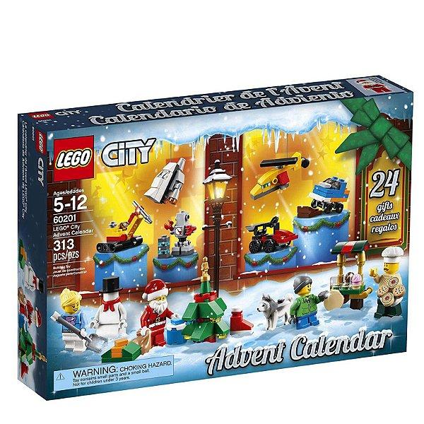 60201 - Lego City Kit de Construção Calendário Contagem Regressiva  ESBJ