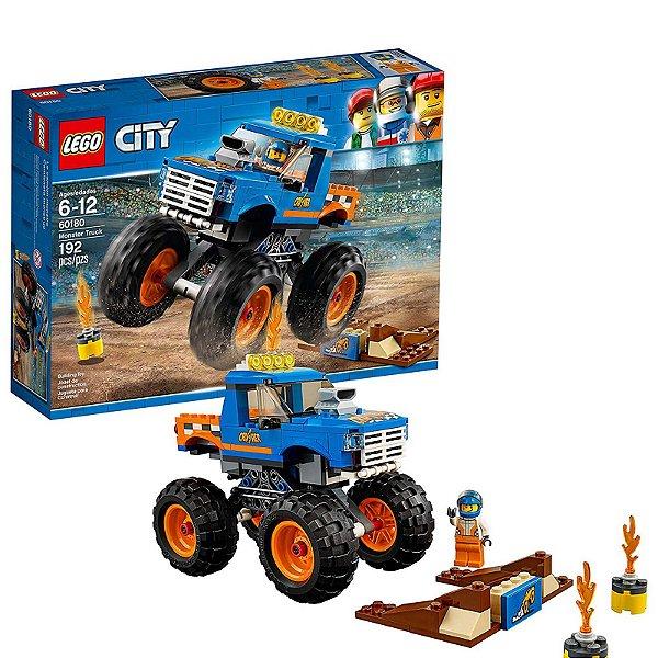 60180 - Lego City Kit de Construção Caminhão Monstro  ESBJ