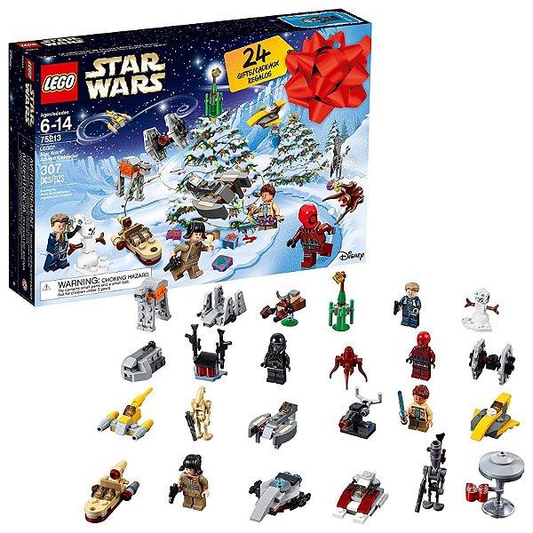 75213 - Lego Star Wars Kit de Construção Calendário de Contagem Regressiva de Natal  ESBJ