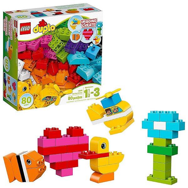 10848 - Lego Duplo Kit de Construção Meu Primeiro Tijolo  ESBJ