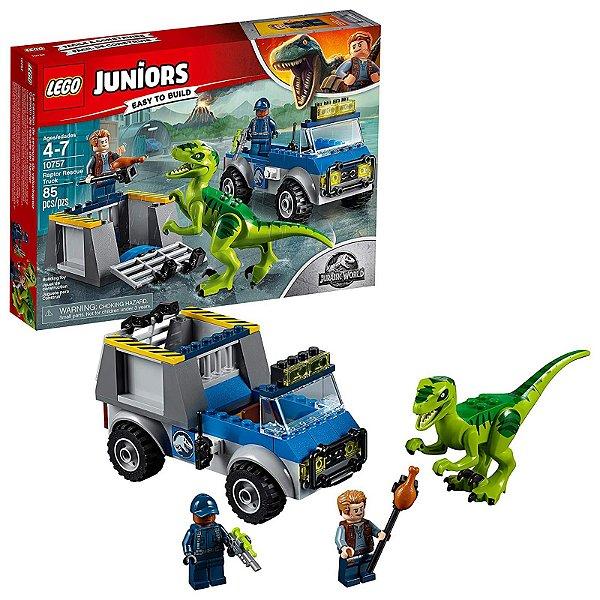 10757 - Lego Juniors Jurassic World Kit de Construção com Caminhão de Resgate  ESBJ