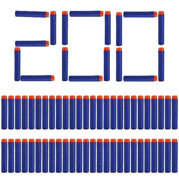 Refill Pack para Lançador de Dardos Nerf N-strike Elite Com 200 Dardos ESBJ