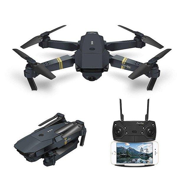 Drone Eachine E58 RTF WiFi FPV Quadcopter 120° Wide-Angle 720P HD Câmera Dobrável Altitude Hold DRON