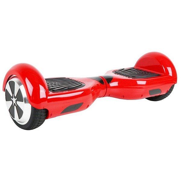 """Hoverboard Elétrico Fujilink Vermelho 6.5"""" - Smart Balance - Led"""