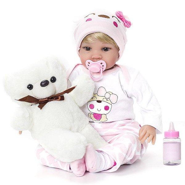 Bebê Reborn Kaydora Ana Julia BEBE