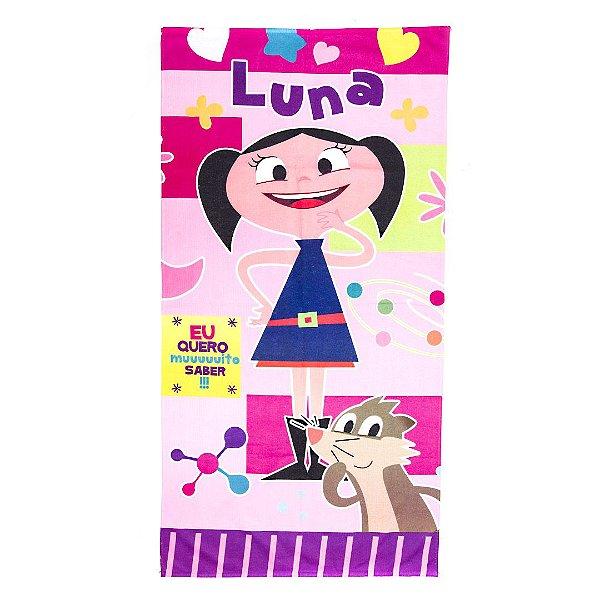 Toalha De Banho  Show Da Luna Felpuda Infantil Personagens