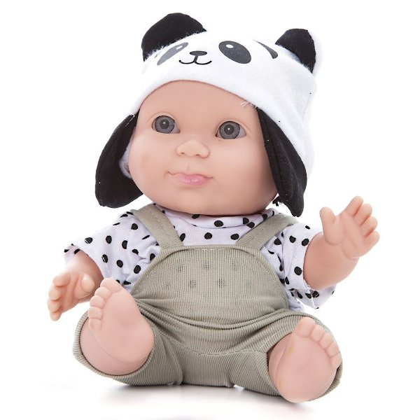 Boneco BeeToys Panda Bee Baby Bichinhos