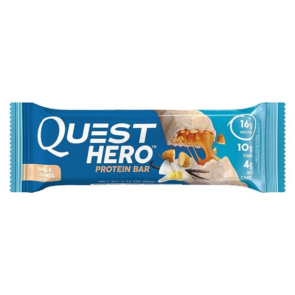 Quest Hero Protein Bar Vanilla Caramel