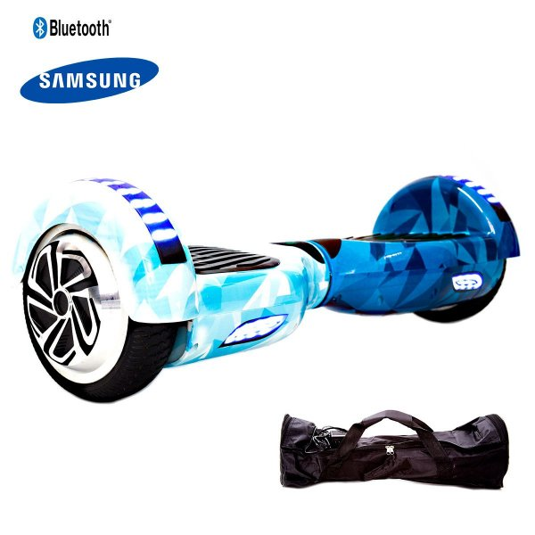 Hoverboard 6,5  Azul Blue Ball Hoverboardx Bat Samsung+bolsa