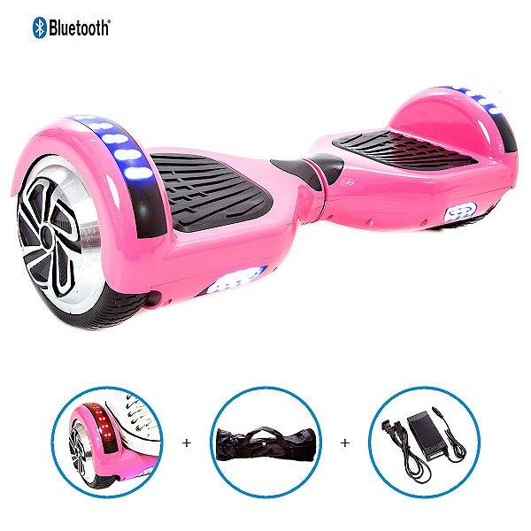 Hoverboard 6,5  Rosa Pink Hoverboardx Bateria Samsung+bolsa