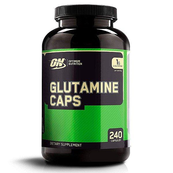 Glutamina Optimum Nutrition 240 Cápsulas