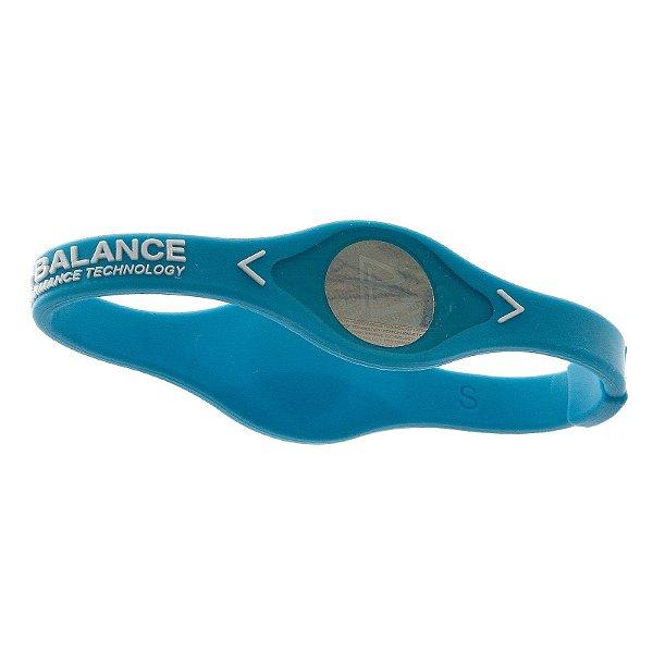 Pulseira Power Balance Azul Tamanho M