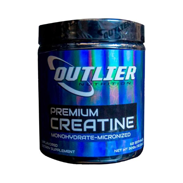 Suplemento Outlier Nutrition Creatina Monohidratado Micronizado 300g