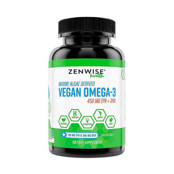 Suplemento Vegan Omega 3 120 Softgels