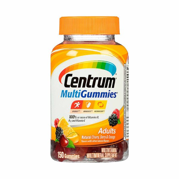Centrum MultiGummies Adultos 150 Comprimidos