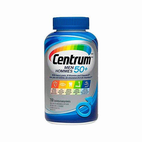 Multivitamínico 250 comprimidos Mineral Para Homens 50+