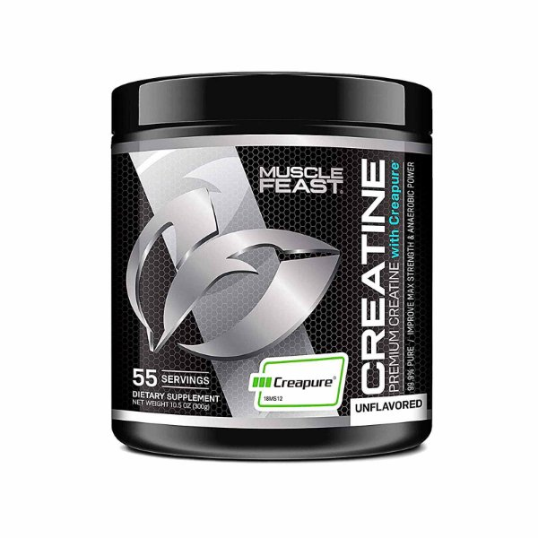 Suplemento Creatina Premium Monohydrate Powder Sem Sabor 300 gramas