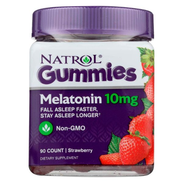 Melatonina Gummies Natrol 10mg 90 Gomas