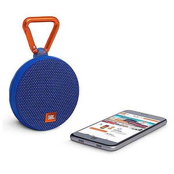 Caixa de Som Bluetooth JBL Speaker Portátil Clip 2 Azul