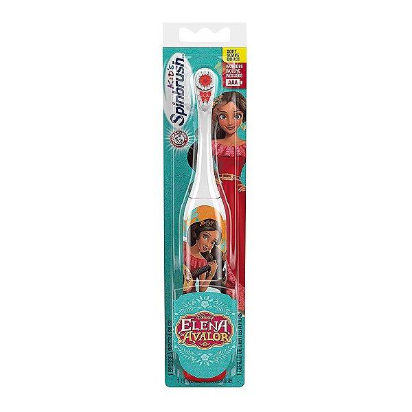 Escova de Dentes Eletrica Infantil de Pilha Elena de Avalor
