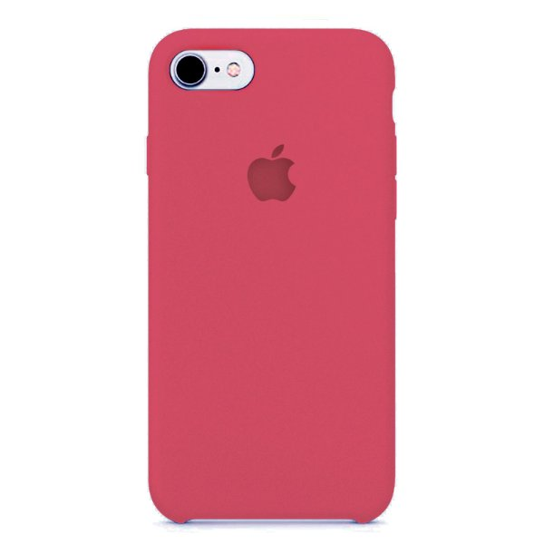 Capa Case Iphone 7 e 8 Silicone Apple Coral