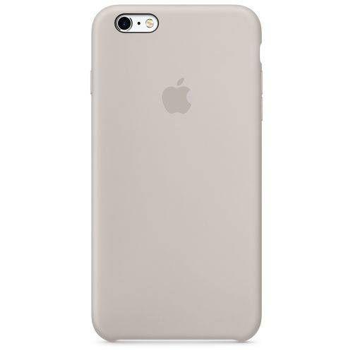Capa para iPhone 6/6s em Silicone Apple Cinza Pedra