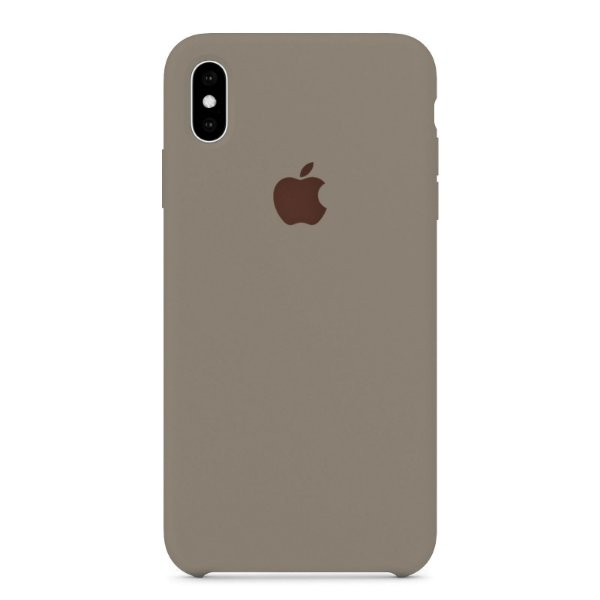 Capa Iphone XS Max Silicone Case Apple Lilás