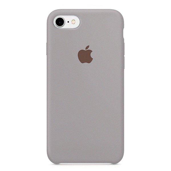Capa Iphone 7/8 Silicone Case Apple Lilás