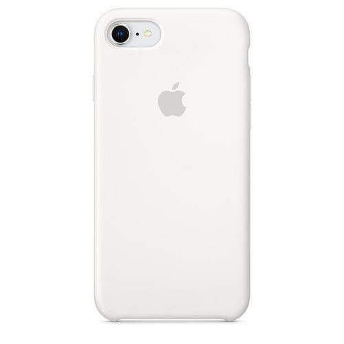 Capa para iPhone 6 e 6s em Silicone Apple Branco