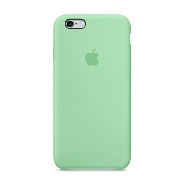 Capa Iphone SE Silicone Case Apple Verde Água
