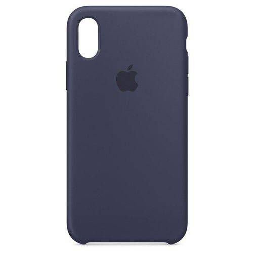 Capa para iPhone X, Azul, Silicone, Apple