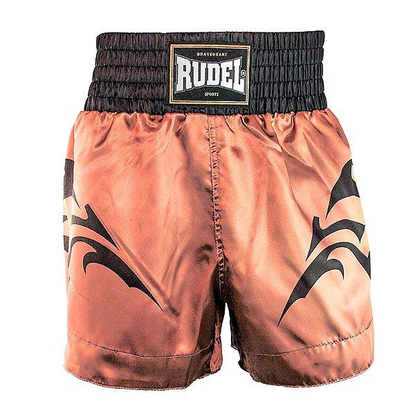 Shorts de Muay Thai Cetim MT11 Tribal Mellon Rudel Sports Tamanho P
