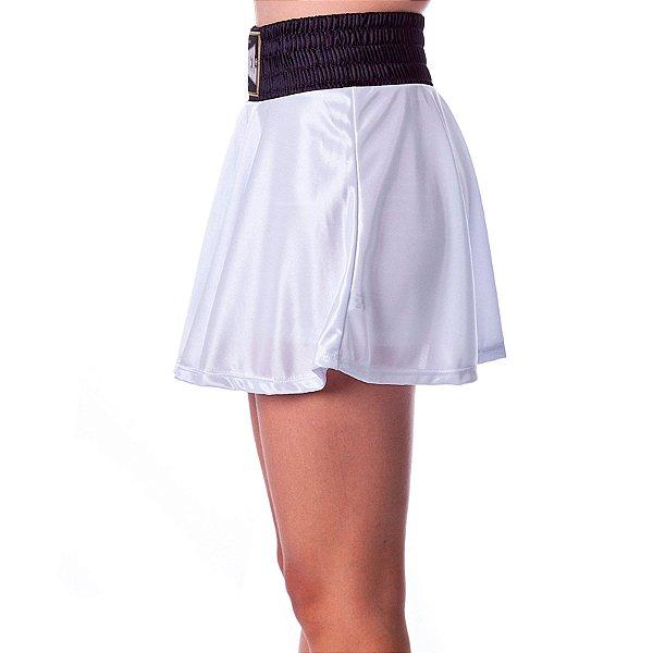 Shorts Saia Diva Branco Rudel Sports Tamanho P