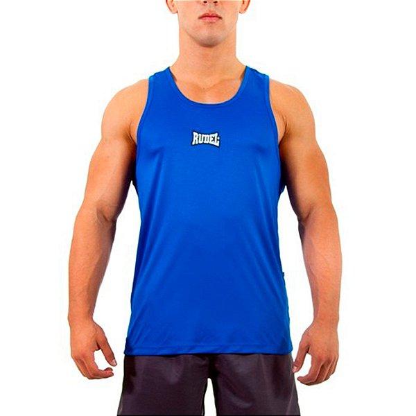 Camiseta Regata Dry I Azul Rudel Sports Tamanho M