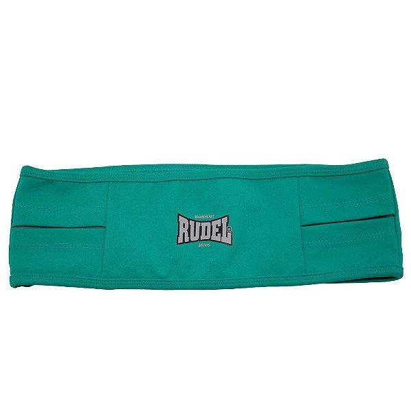 Cinto Esportivo Waist Bag Verde Rudel Sports Tamanho GG