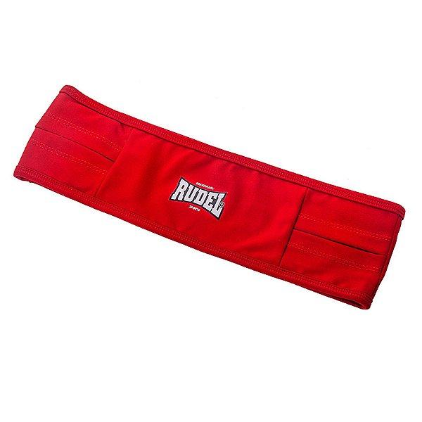 Cinto Esportivo Waist Bag Vermelho Rudel Sports Tamanho PP