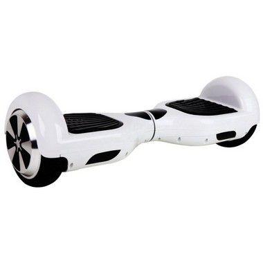 "Hoverboard 6,5"" Branco HoverboardX Bateria Samsung Bluetooth Smart Balance Com Bolsa"