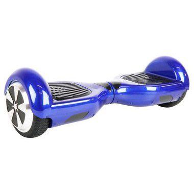 "Hoverboard 6,5"" Azul HoverboardX Bateria Samsung Bluetooth Smart Balance Com Bolsa"