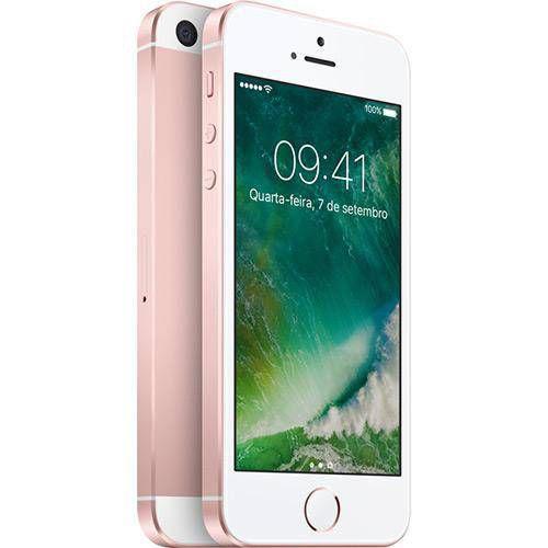 Iphone Se 16GB Rosê Gold IOS 4G/Wi-Fi 12MP - Apple