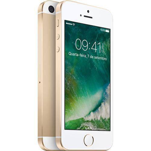 Iphone Se 16GB Dourado IOS 4G/Wi-Fi 12MP - Apple