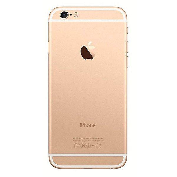 """Iphone 6 32GB Dourado, Tela 4.7"""" IOS 8, Câmera 8MP, 4G Processador 1.4 Ghz Dual Core - Apple"""