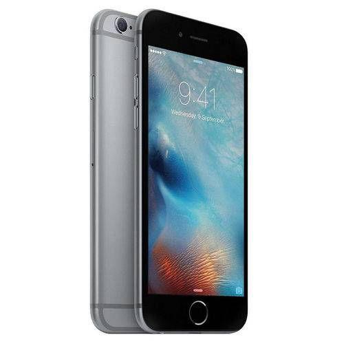 "Iphone 6 64GB Cinza Espacial, Tela 4.7"" Câmera 8MP, 4G Processador 1.4 Ghz Dual Core - Apple"