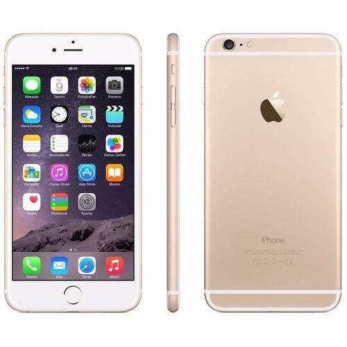"""Iphone 6 64GB DOURADO, Tela 4.7"""" Câmera 8MP, 4G Processador 1.4 Ghz Dual Core - Apple"""