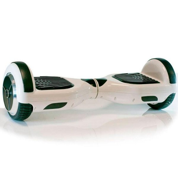 "Hoverboard 6,5"" Smart Balance Scooter Bateria Samsung - Branco"