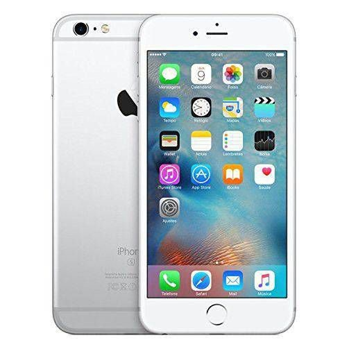 "Iphone 6s Plus Prata Silver Apple Com 32gb, Tela 5,5"" HD, 3d Touch, Sensor Touch Id, Câmera Isight 12mp, Wi-Fi, 4g"