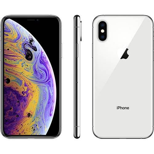 iPhone X s 64GB Prata IOS12 4G + Wi-fi Câmera 12MP - Apple