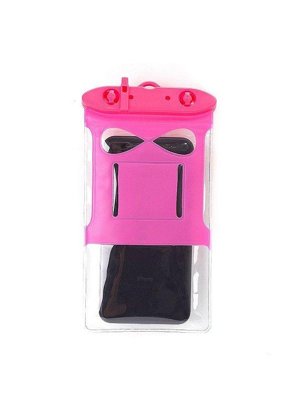 Bolsa Case A Prova D`água Rosa