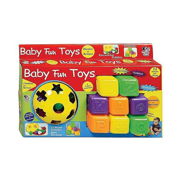 Brinquedo Kit Para Bebê Educativo Didático