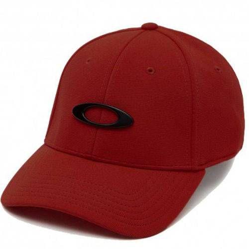 Boné Oakley Tincan Cap Vermelho
