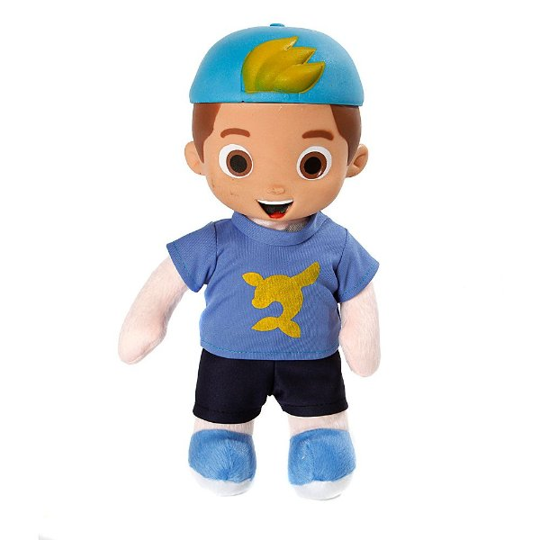 Boneco Youtuber Luccas Neto Azul 30 cm